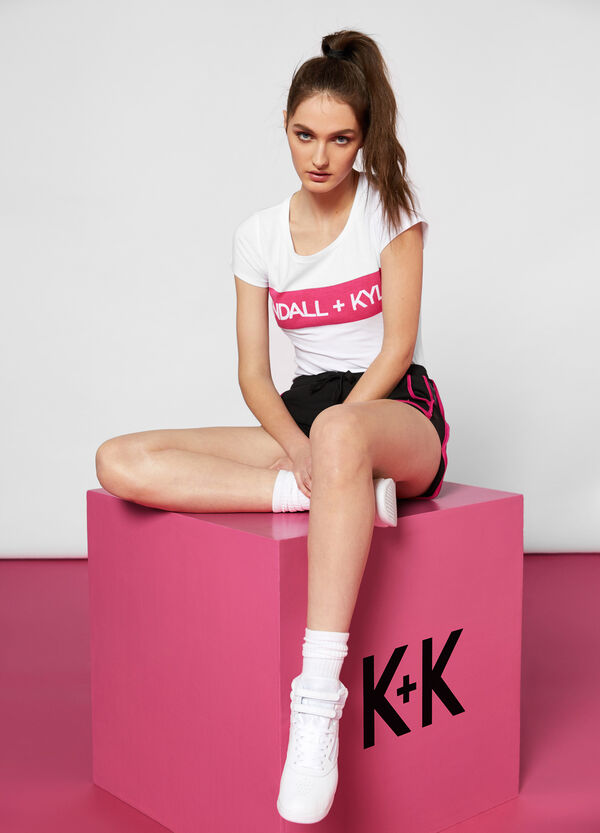 K+K for OVS printed jersey T-shirt