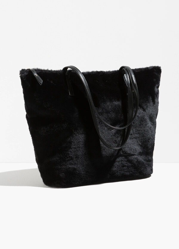 Shopping bag in pelliccetta | OVS