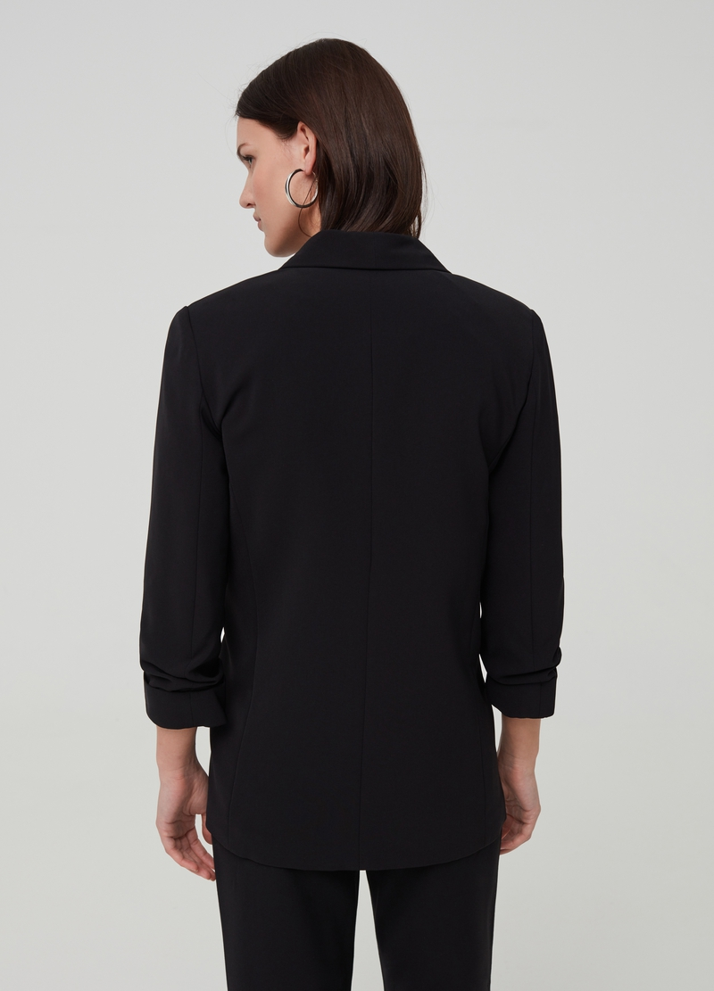 Solid colour blazer image number null