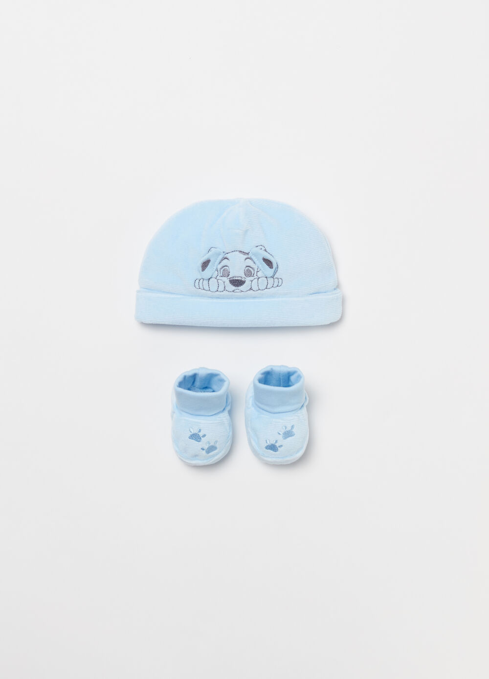 Disney Baby hat and shoes set