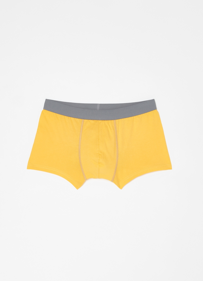 Five-pack boxer shorts in 100% cotton image number null