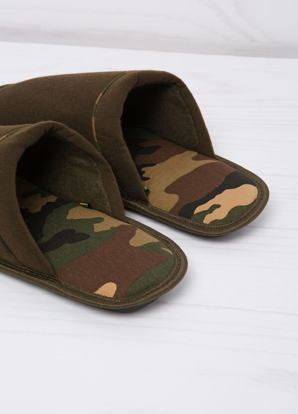 Slippers with camouflage lining | OVS