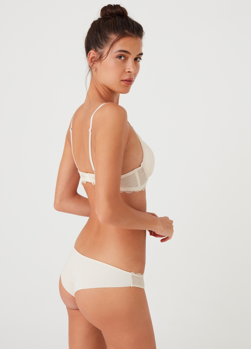 Seductive Brazilian-cut briefs, invisible under clothing image number null
