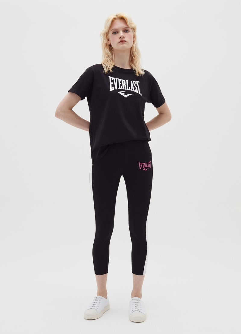 Leggings stretch a tre quarti Everlast image number null