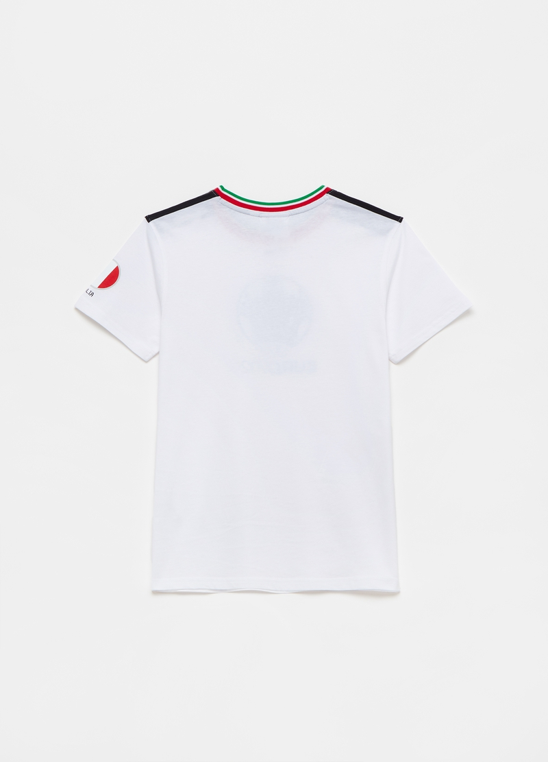 T-shirt with UEFA Euro 2020 cup print image number null