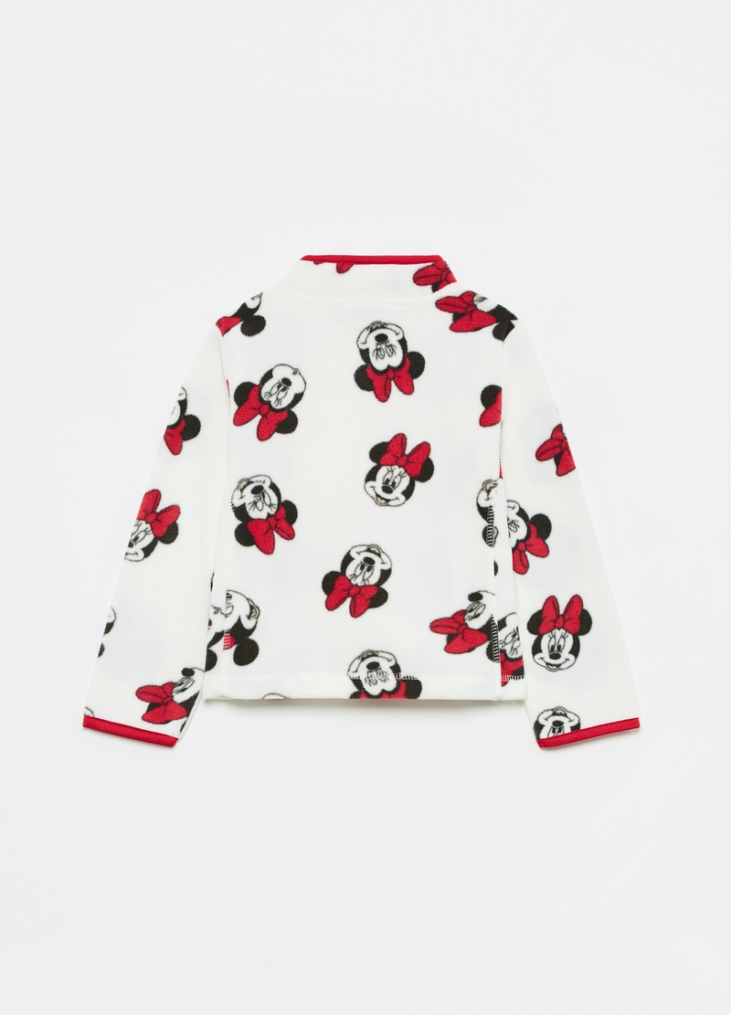 Full-zip in pile riciclato Disney Minnie image number null