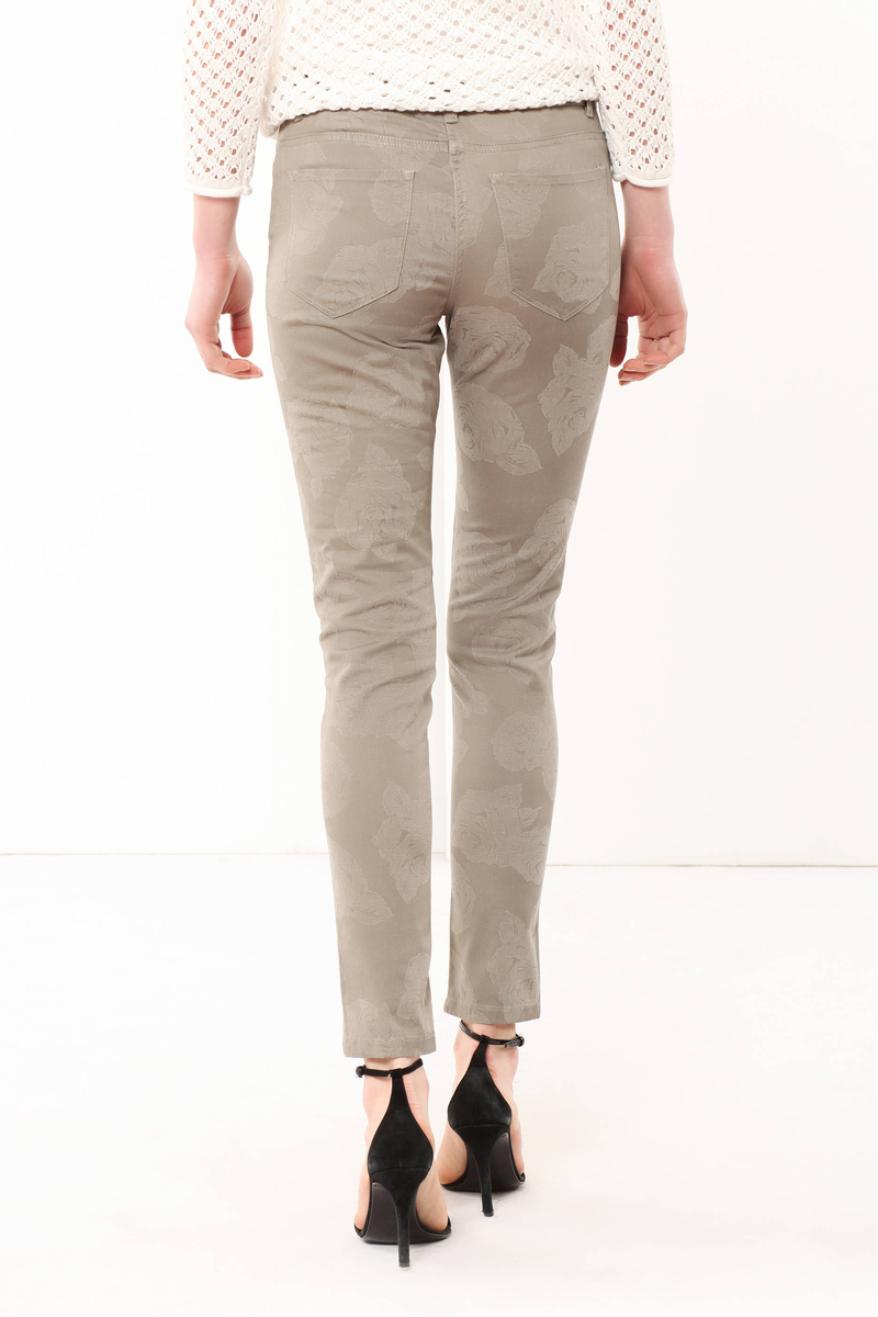 Patterned trousers image number null