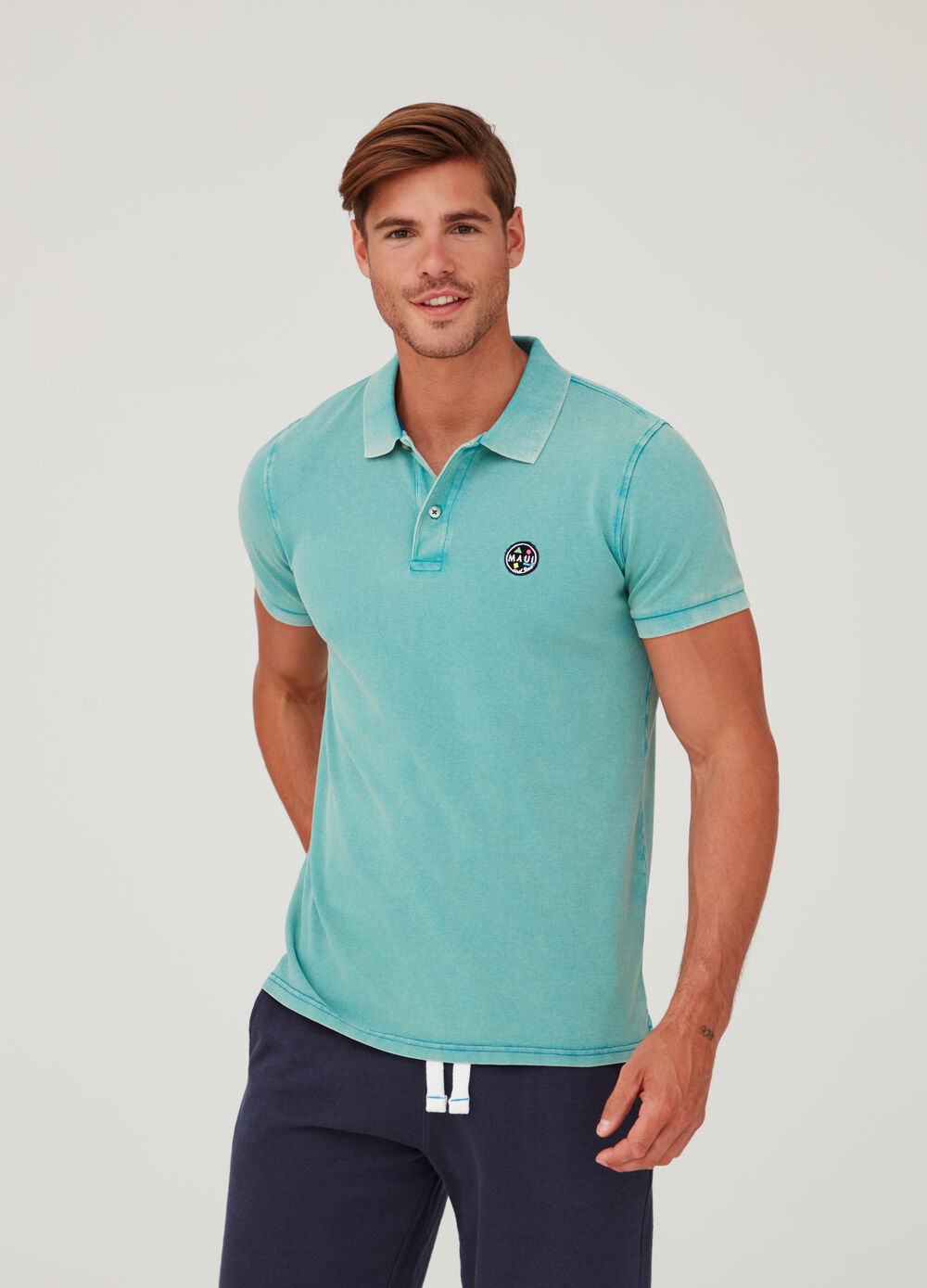 100% cotton polo shirt by Maui and Sons
