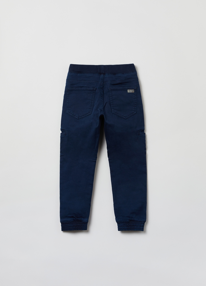 Pantaloni pull on stretch image number null