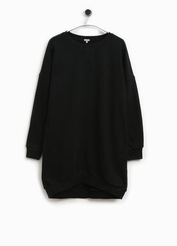 Smart Basic long 100% cotton sweatshirt