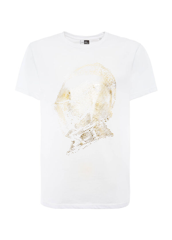 OVS Arts of Italy T-shirt with laminated print