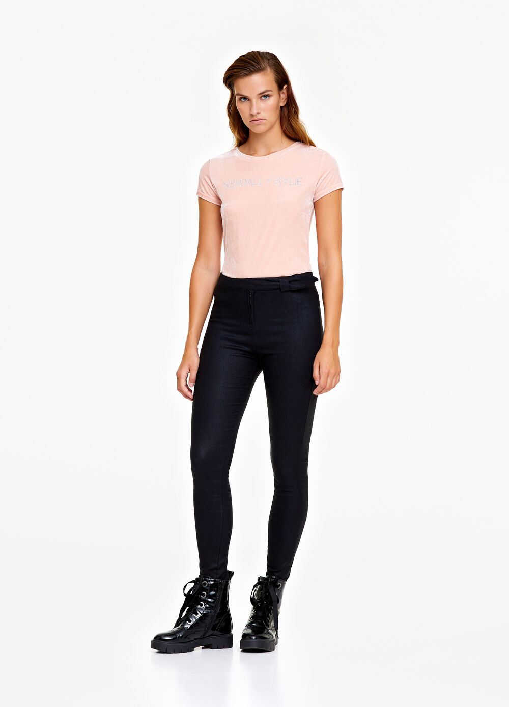 K+K for OVS trousers with zip