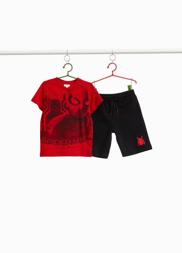 100% cotton Spiderman outfit