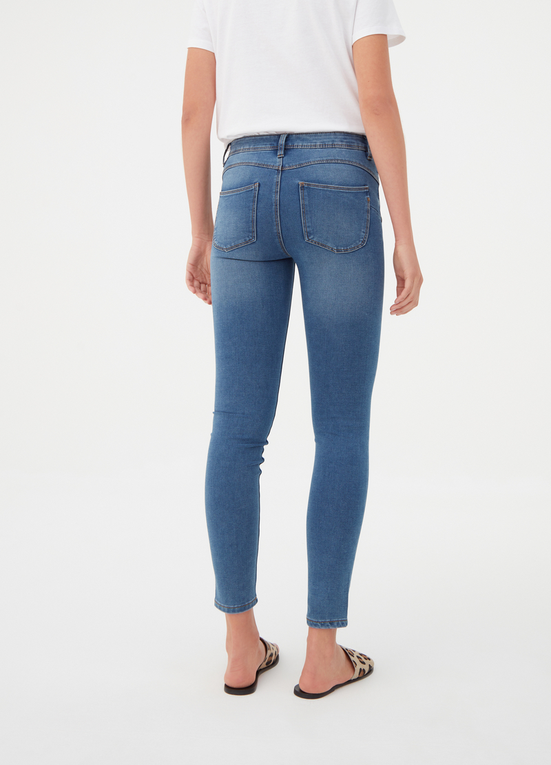 Jeans push up high recovering stretch image number null