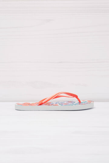 Floral thong sandals