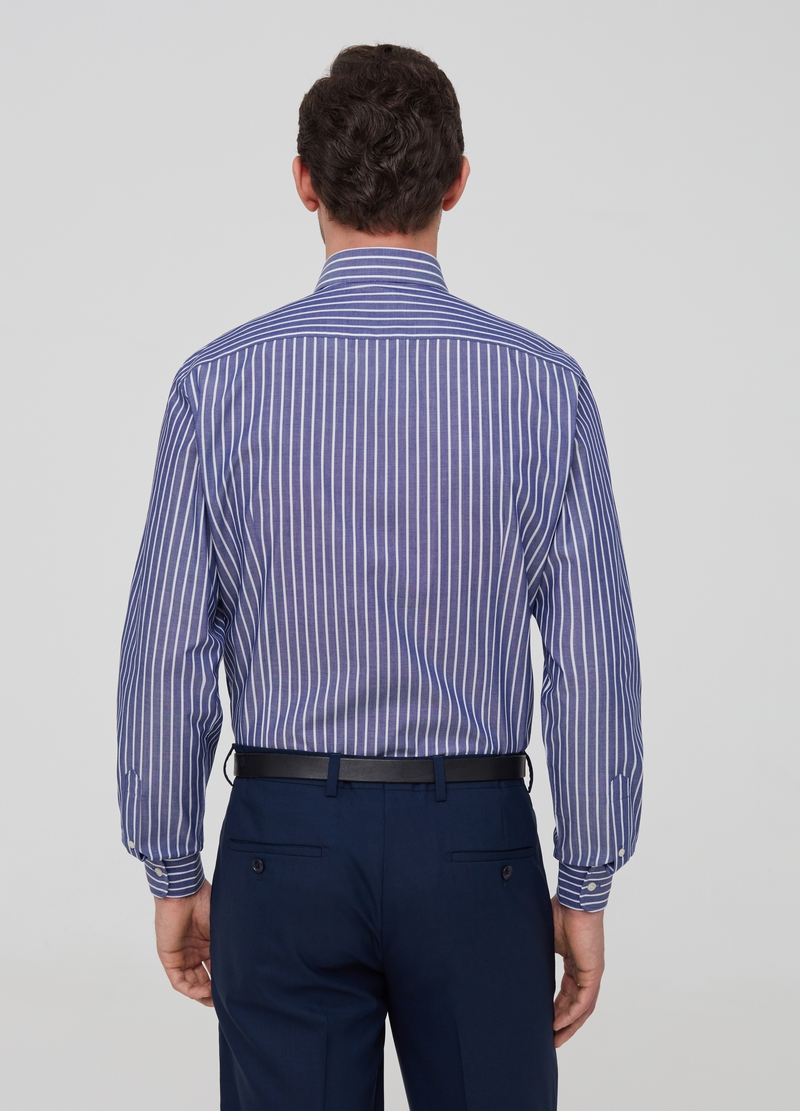 Button-down striped shirt image number null