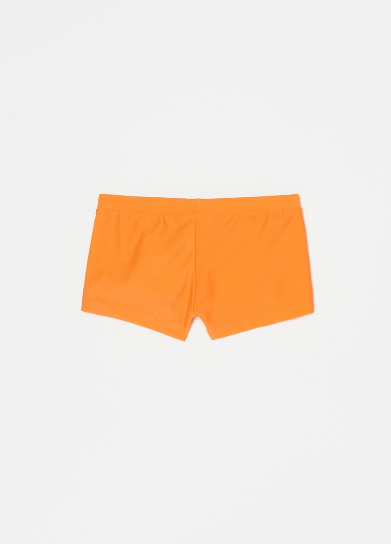 Swimming trunks with elephant print image number null