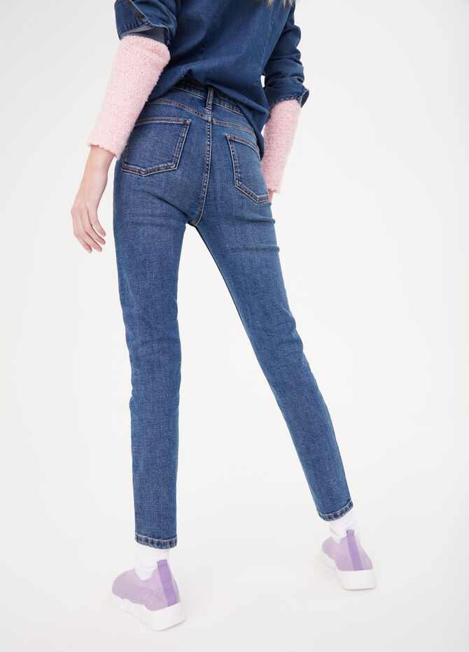 Super-skinny premium jeans with high waist