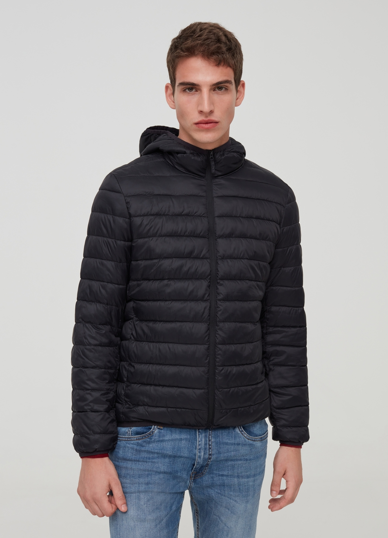 Ultra-light down jacket with hood image number null