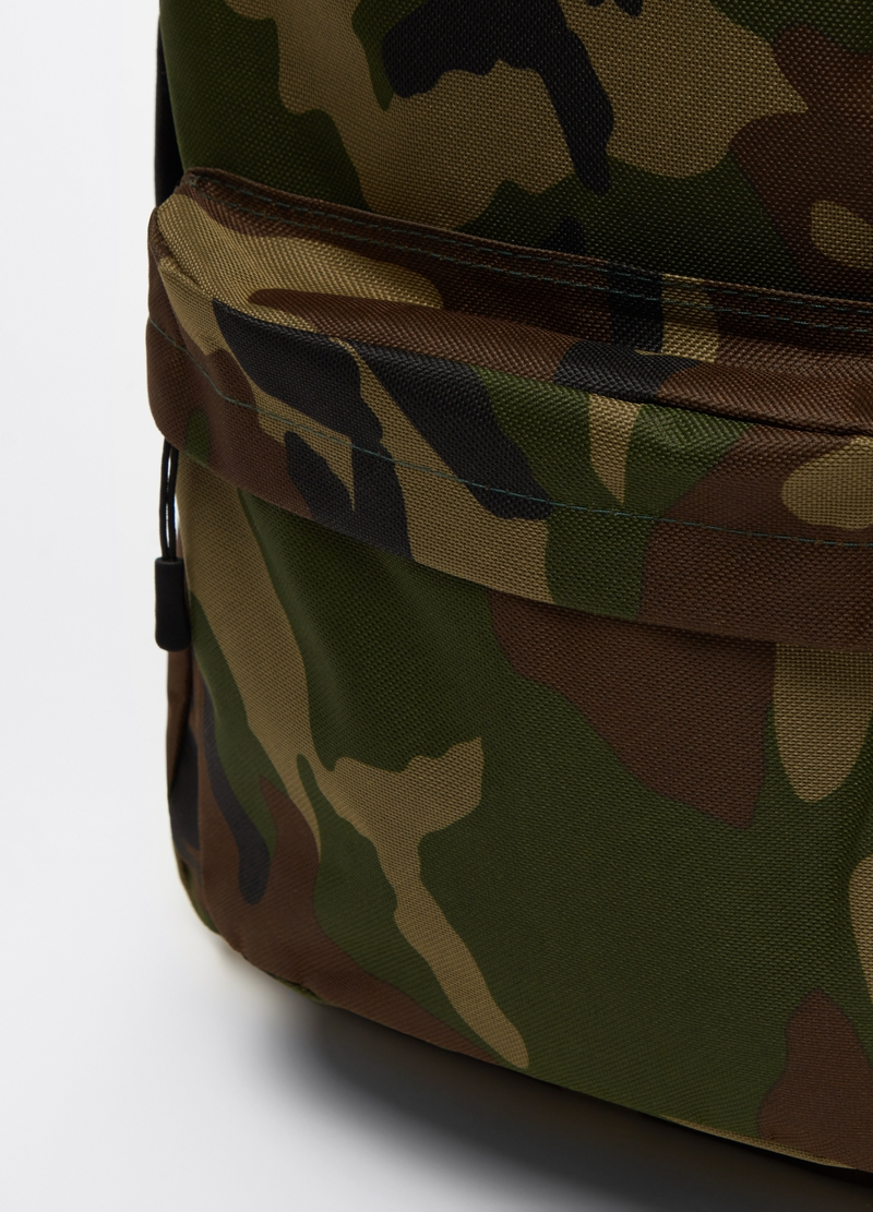 Camouflage backpack with pocket image number null