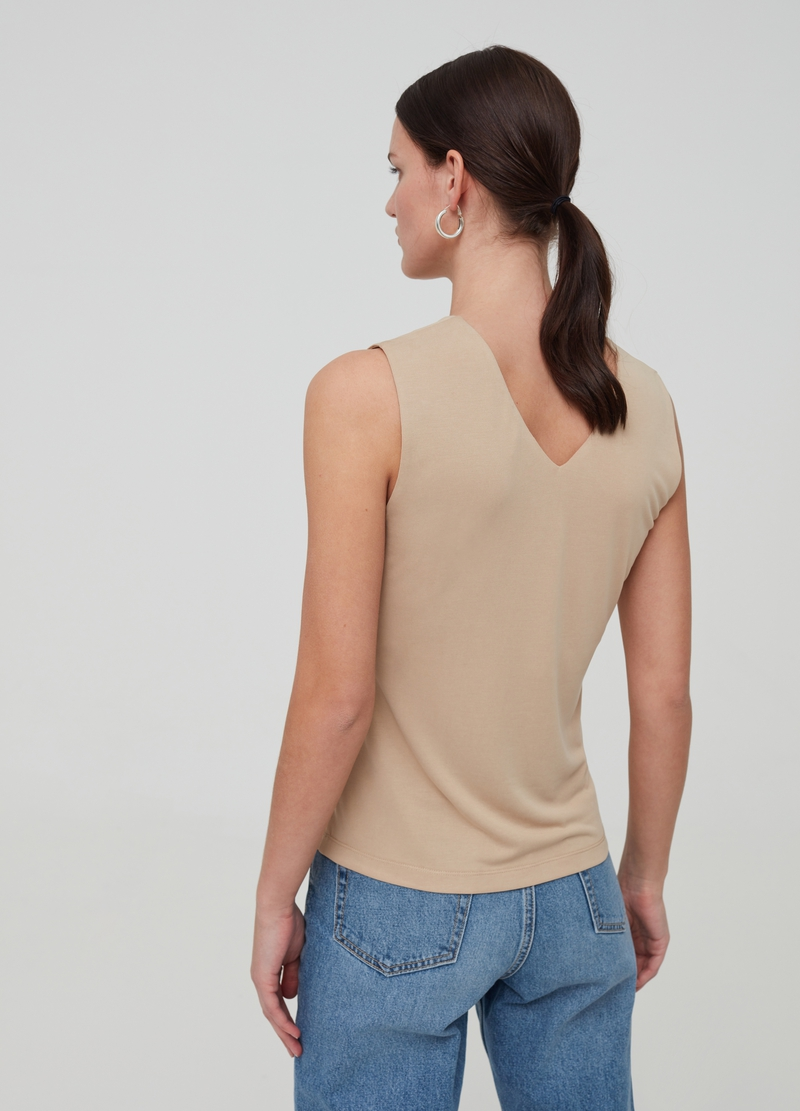 Modal blend tank top image number null