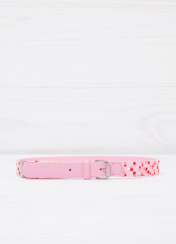 Stretch belt with star pattern | OVS
