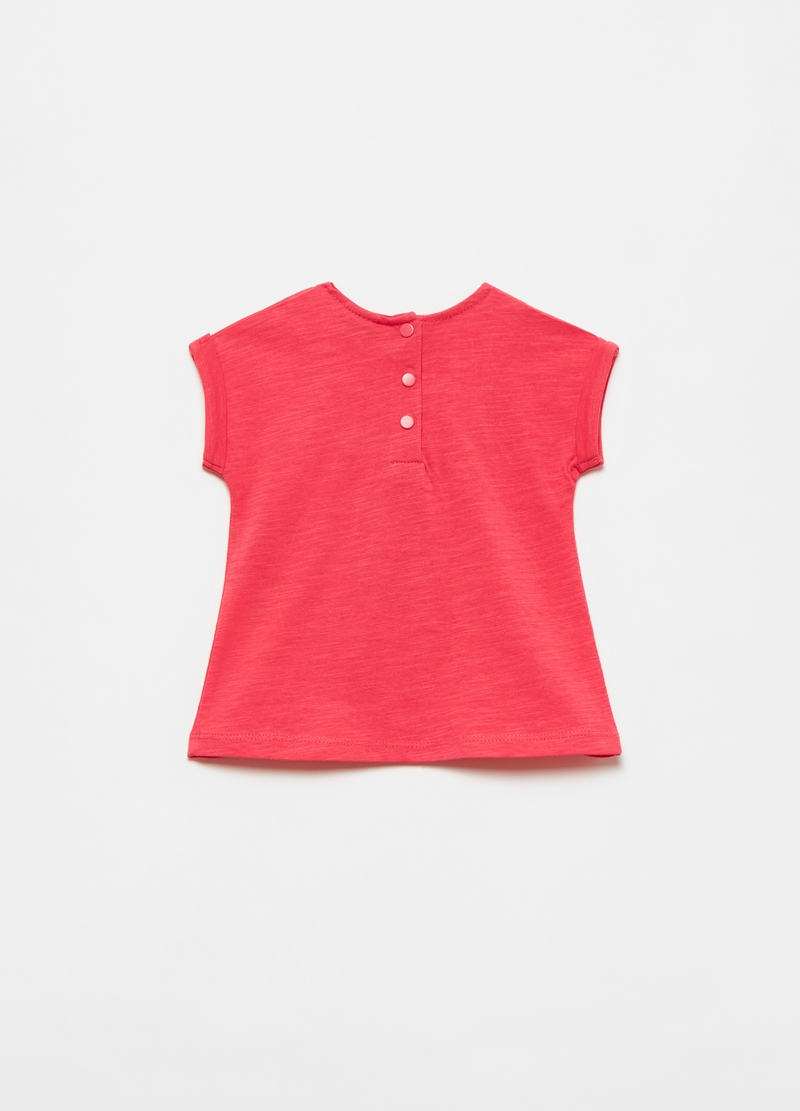 T-shirt with broderie anglaise lace insert image number null