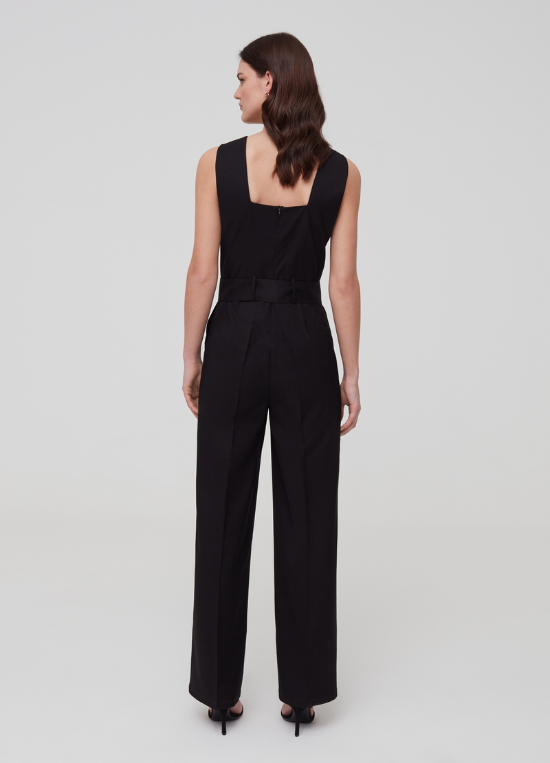 Playsuit with belt image number null