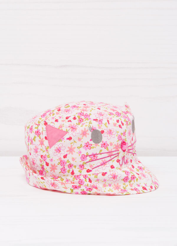 Patterned cotton hat | OVS