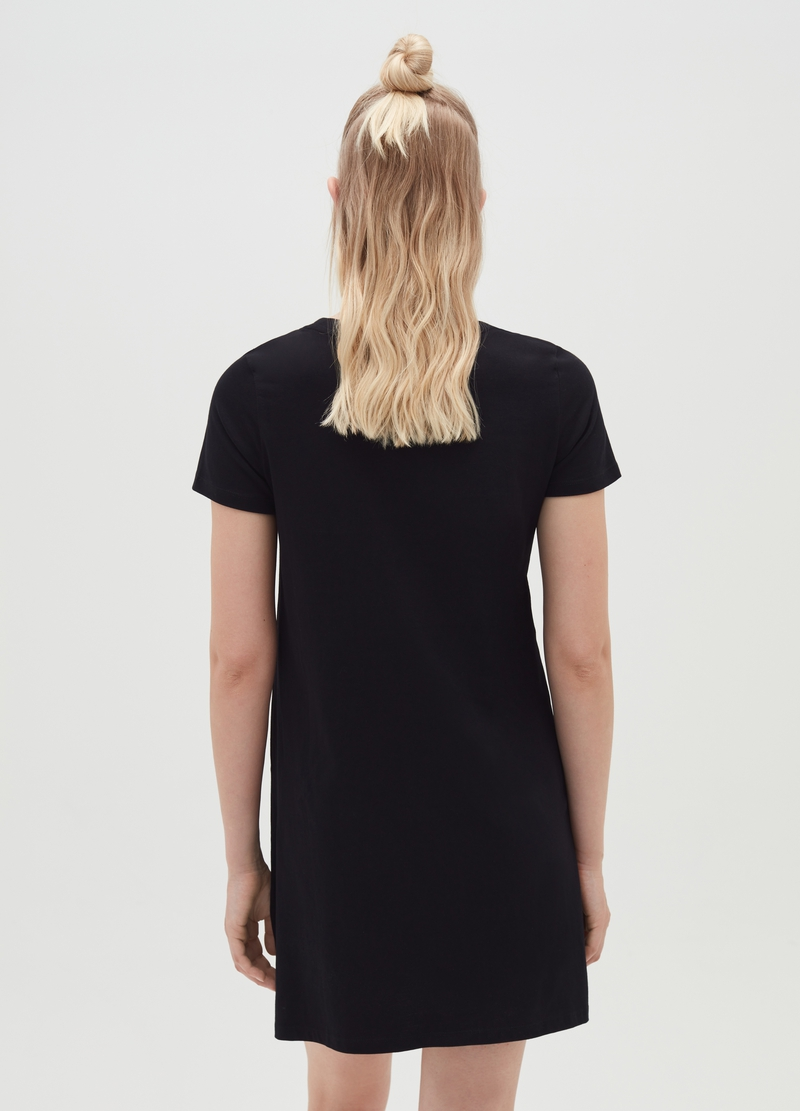 Abito a t-shirt in cotone bio image number null