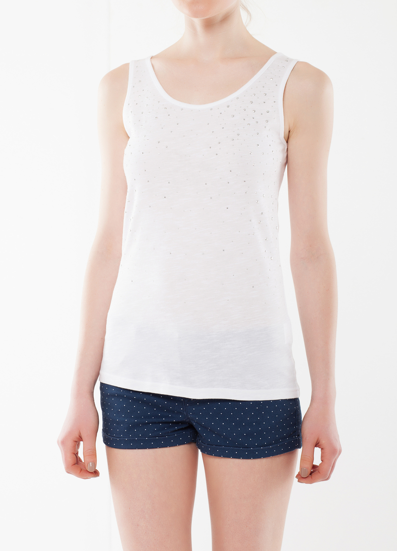 Top with rhinestones image number null