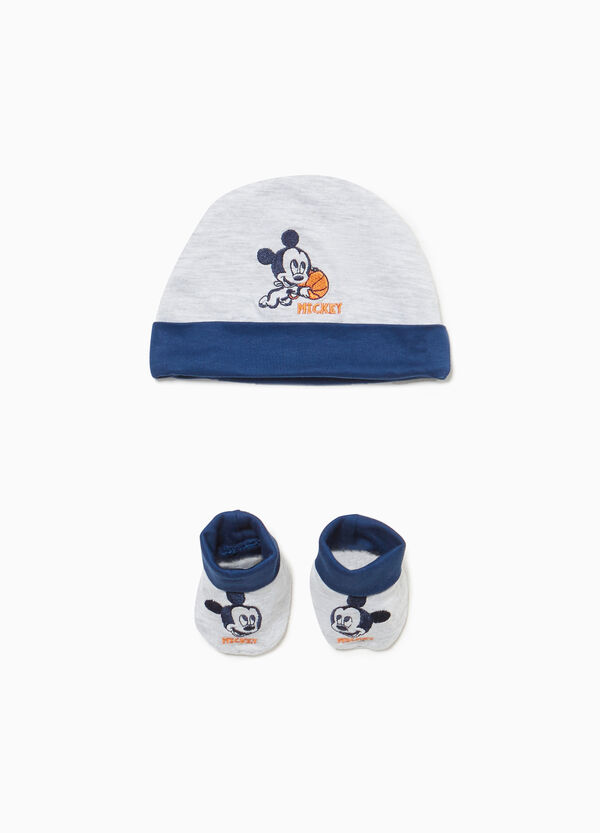 Set cappello e scarpette Mickey Mouse