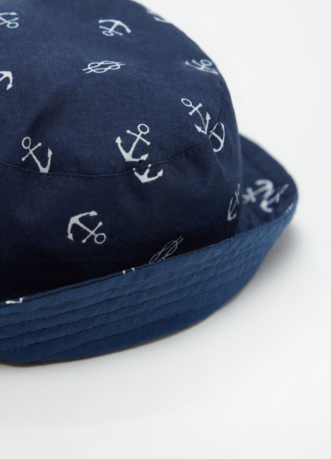 Fishing hat in cotton