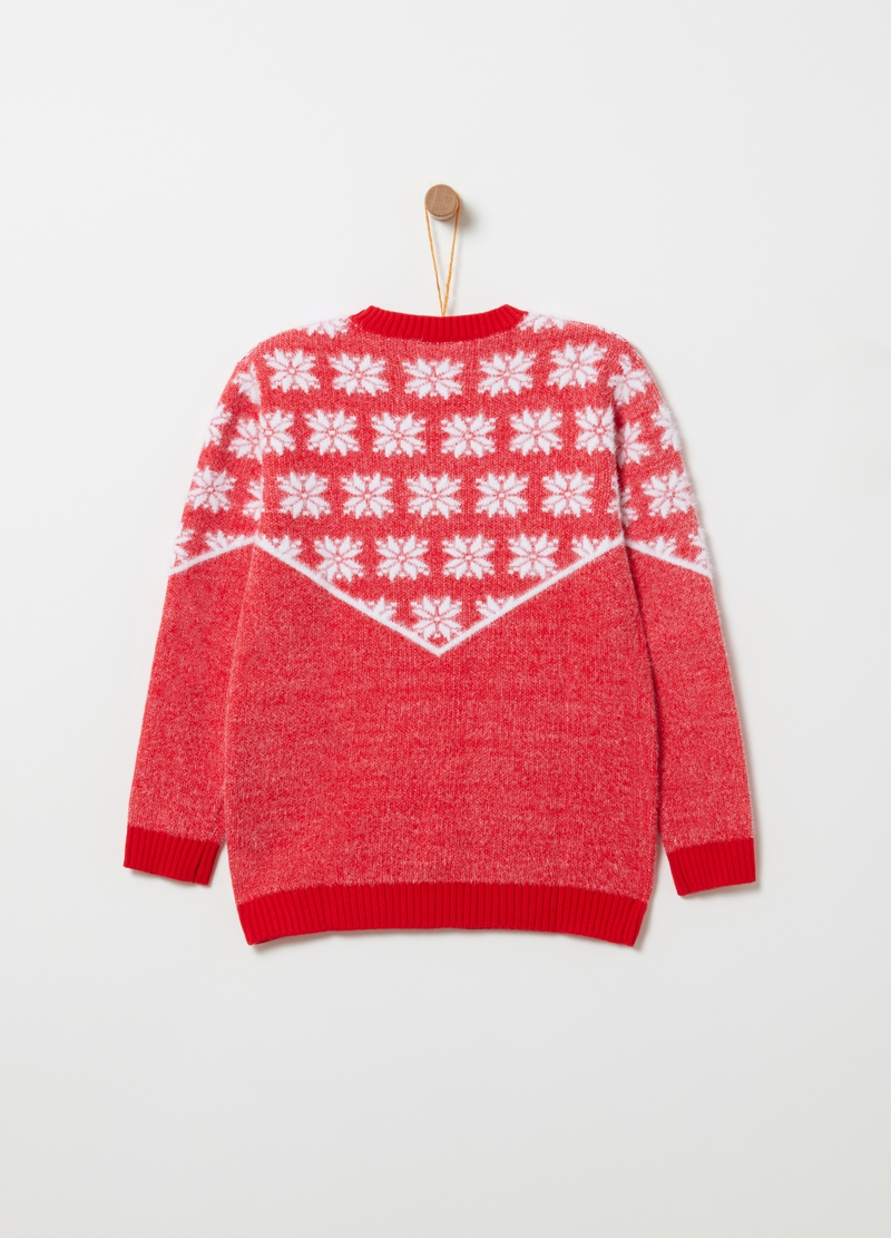 Christmas jumper fantasia fiocchi di neve image number null