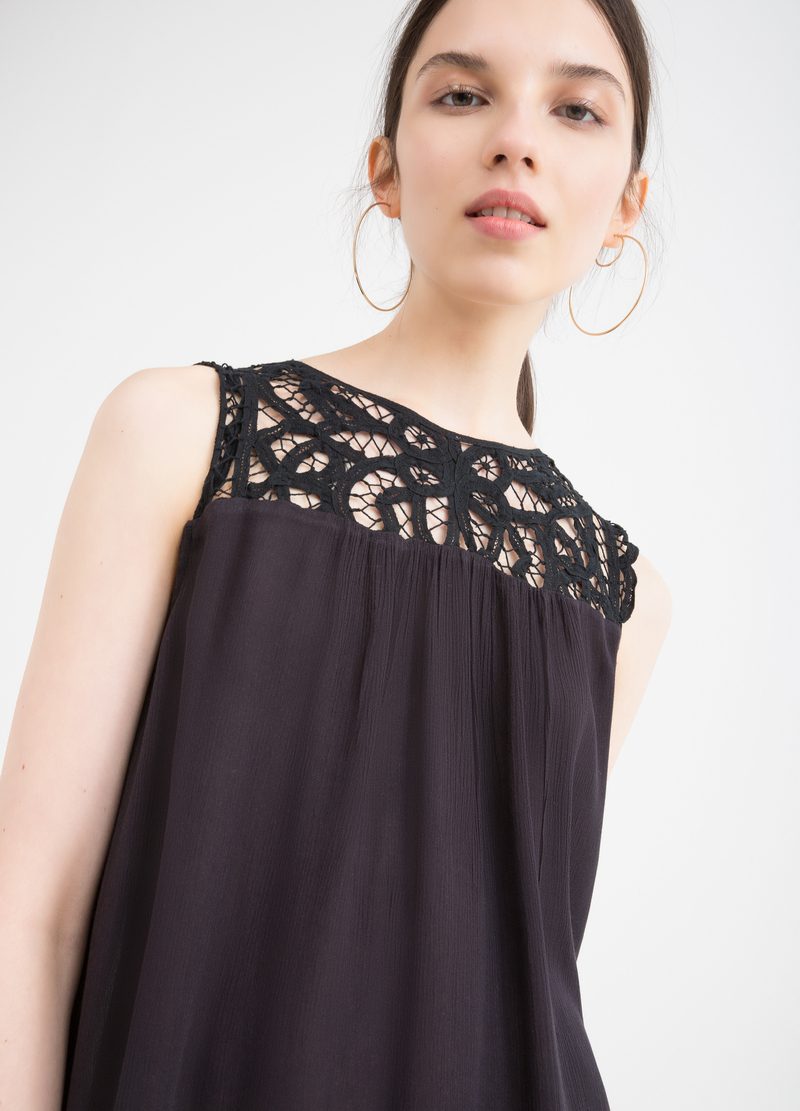 100% rayon blouse with insert image number null
