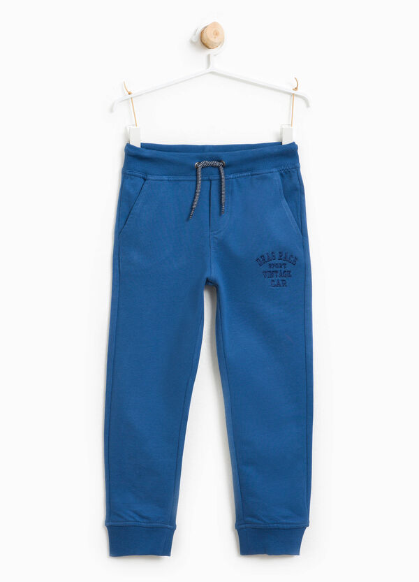 Joggers with lettering embroidery | OVS