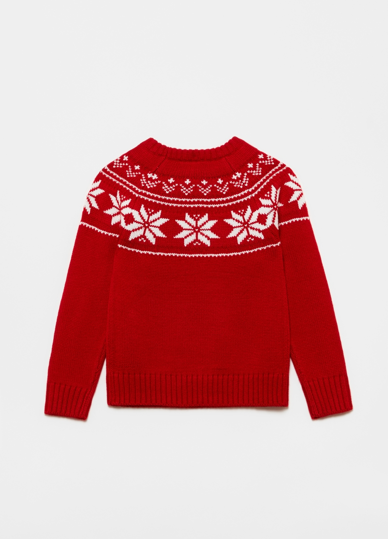 Christmas jumper with raglan sleeves image number null