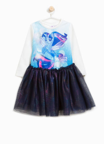 Vestitino tulle e stampa My Little Pony