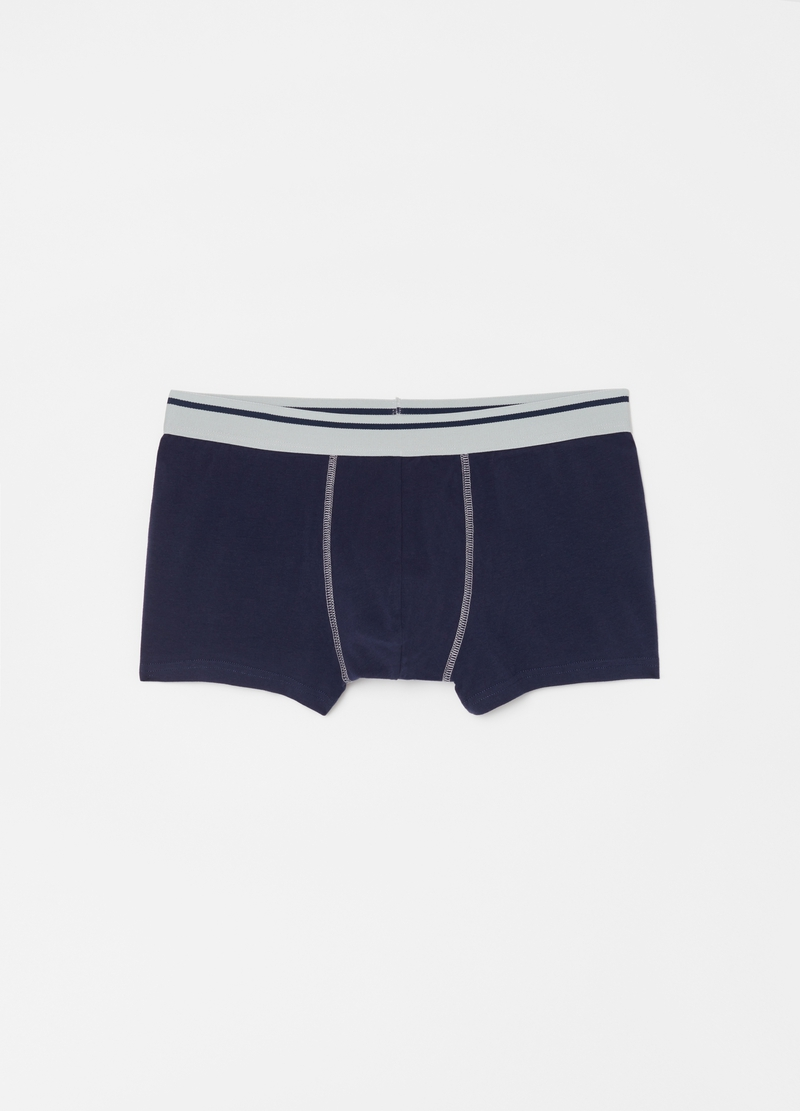 Three-pair pack boxer shorts with polka dot pattern image number null