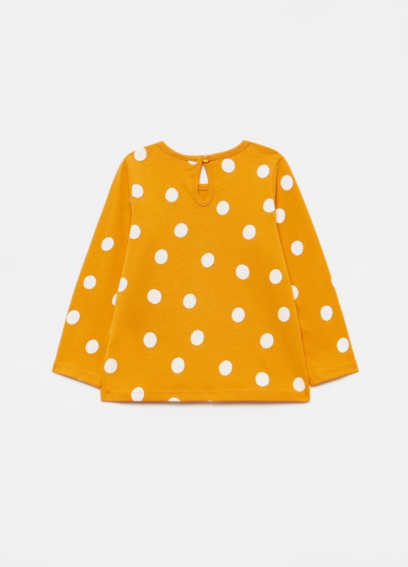 T-shirt maniche lunghe a pois image number null