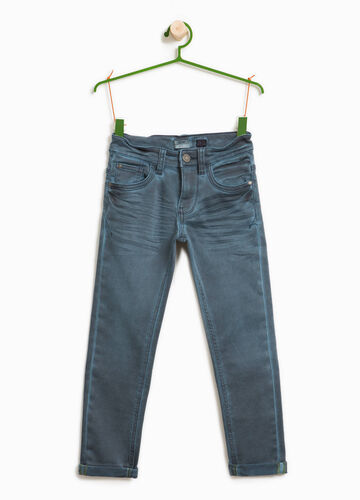 Jeans stretch effetto used