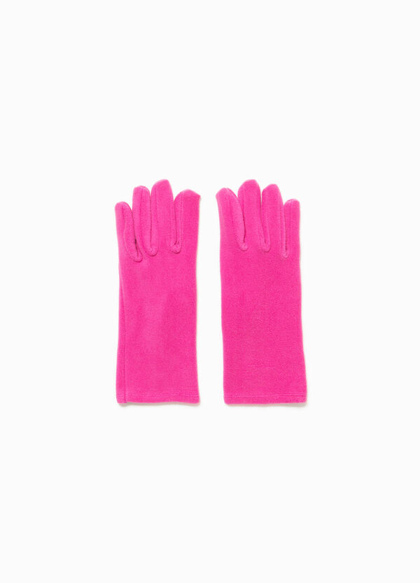 Solid colour gloves