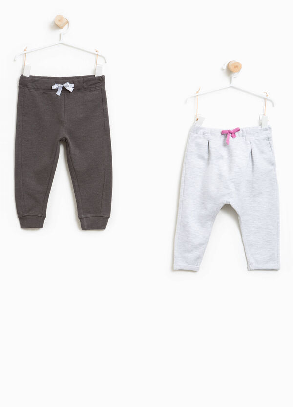 Set of two trousers with drawstrings | OVS