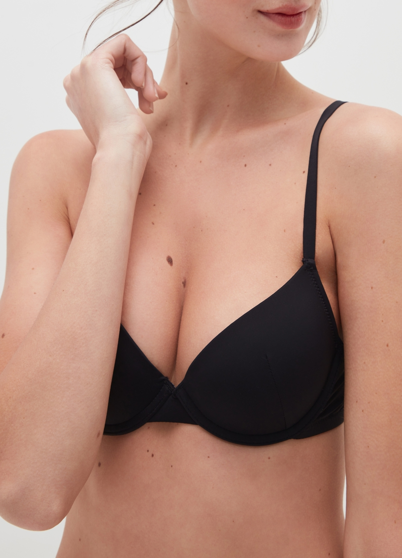Lifting-effect push-up bra image number null