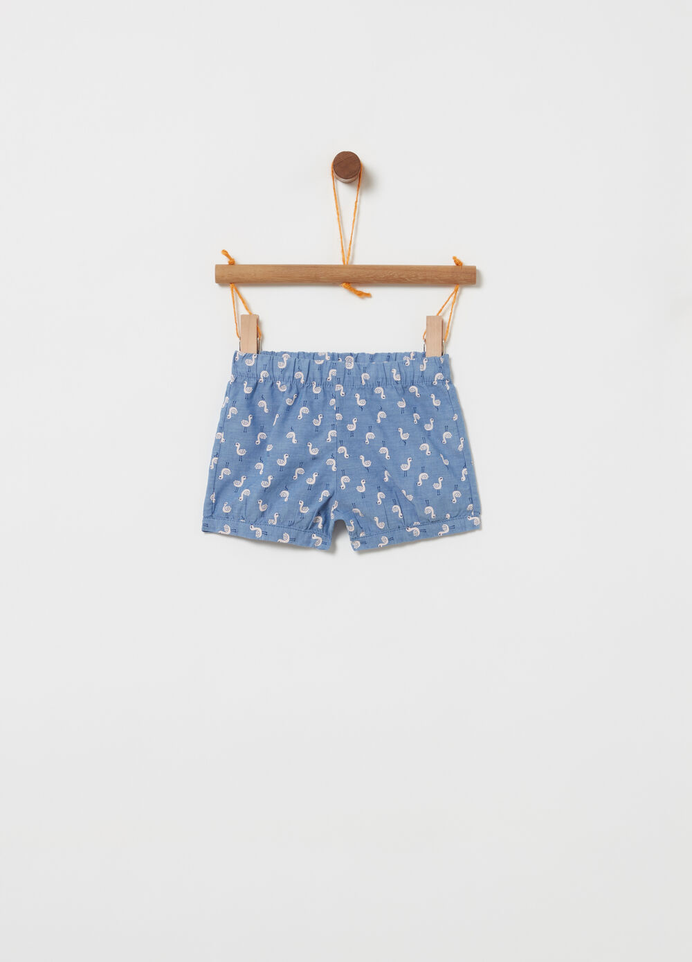 Shorts in denim fantasia oche
