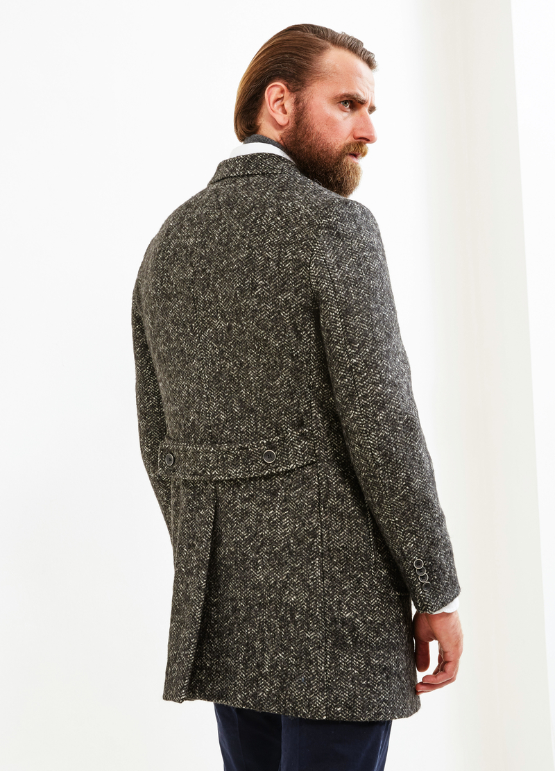 Cappotto Rumford lana con martingala image number null