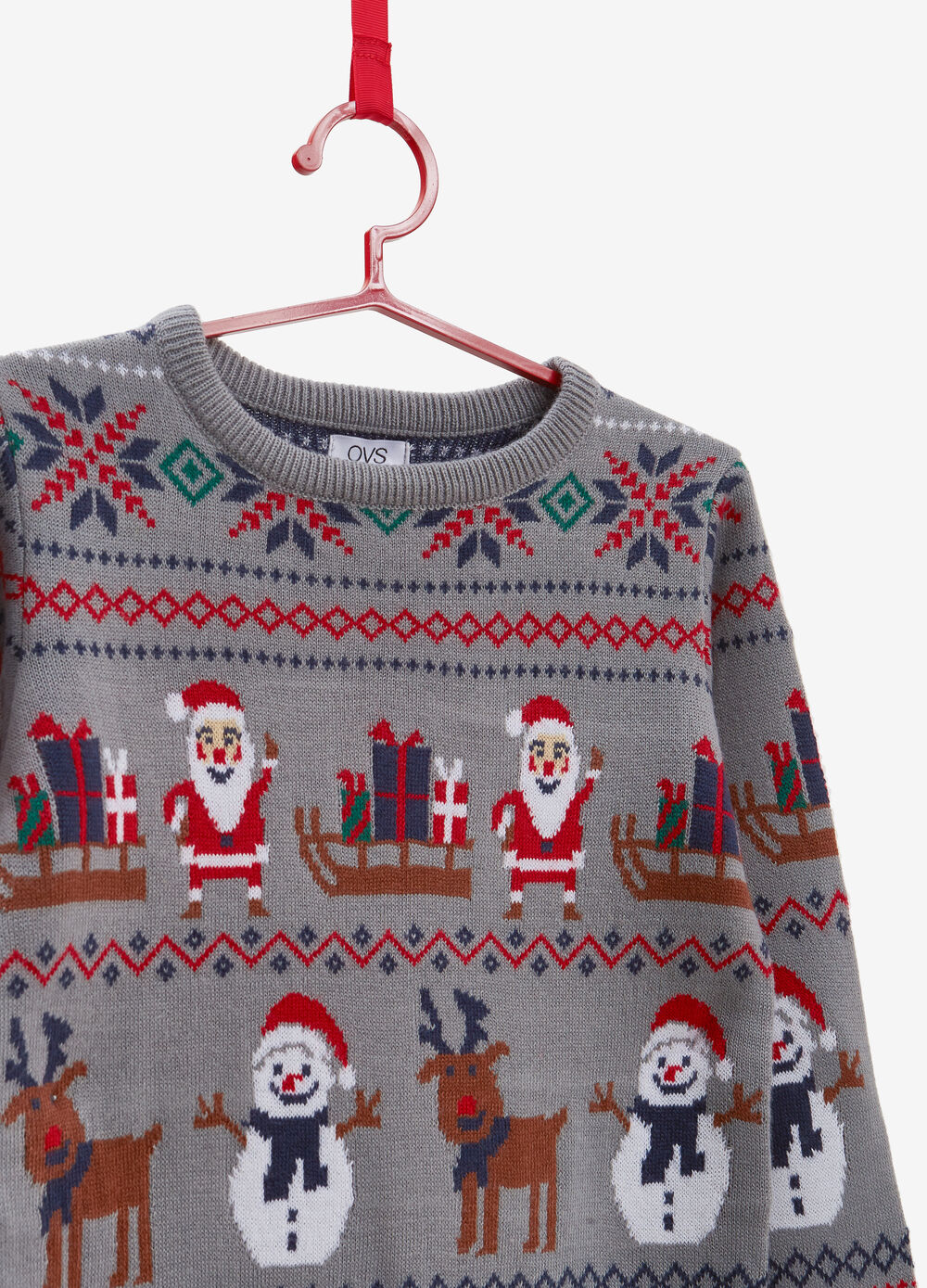 Christmas sweater with Christmas motif