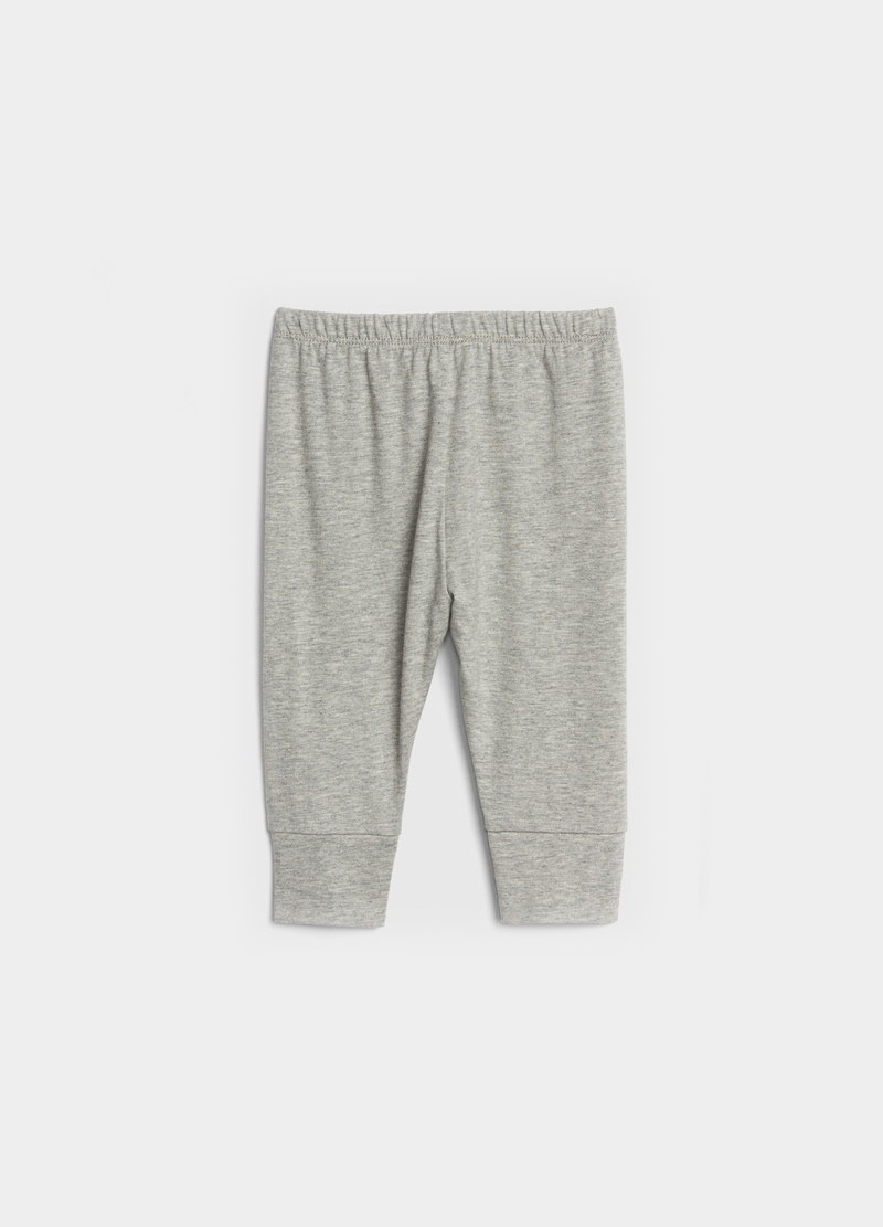 GAP joggers in cotton with drawstring image number null