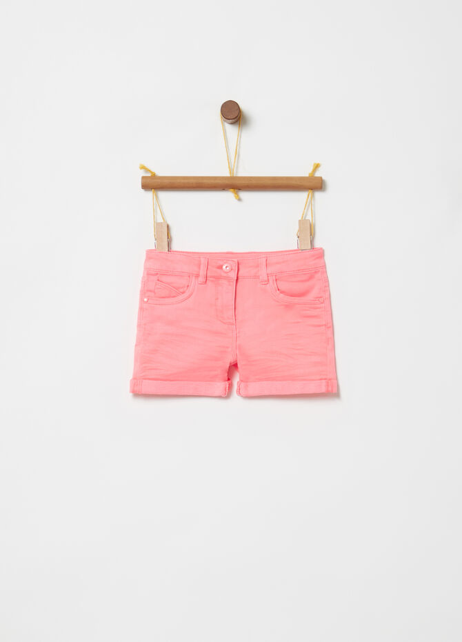 Shorts French Terry cinque tasche
