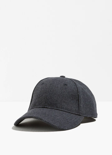 Baseball cap with hook